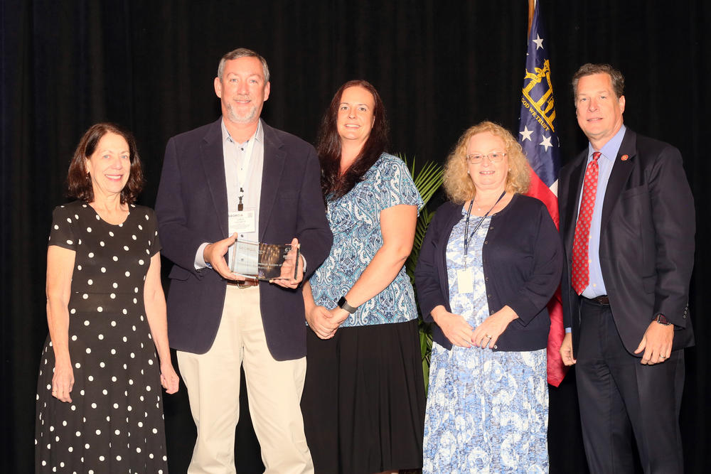 Employees' Retirement System of Georgia receives 2019 Technology Innovation Showcase award.