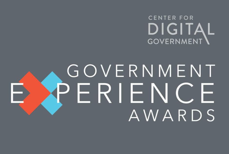 Center for Digital Government Government Experience Awards
